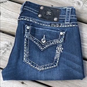 👖 Miss Me Jeans Easy Boot JE8035EX Size 29 Pants